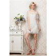 Rachael Rowes Organza Prosperous Plate Hollow Out Silk Lace Dresses for Women