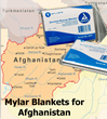 AMOR Chooses QuickMedical to Supply Emergency Blankets to Afghanistan Refugees.