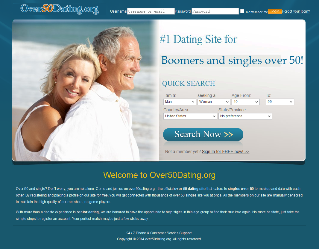 U.S. online dating by age