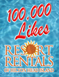 Resort Rentals of Hilton Head Island Welcomes 100,000th Facebook Fan
