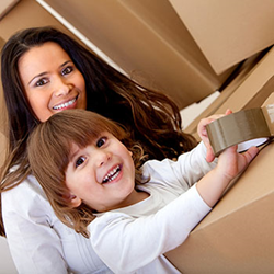 Minneapolis household moving with children