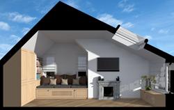 Arcbazar- Attic Master Bedroom, MG Architect Studio, IT
