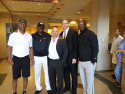 Eric Dickinson, Roy Green ,Marcus Allen and Stan Andrakowicz mayo clinic living heart foundation pro player health alliance sleep apnea