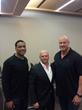 Andre Collins, David Gergen and Mark Walczak pro player health alliance sleep apnea living heart foundation hope program nflpa