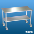 The DRE Stainless Steel Mobile Gurney is fully-welded for increased quality and longevity.