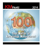 KMWorld's 100 Companies that Matter in Knowledge Management in 2014 Award