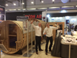 Almost Heaven Saunas Unveils New, Luxury Model at Spatex Show