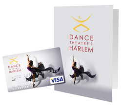 Premium gift cards at GiftCards.com featuring Dance Theatre of Harlem