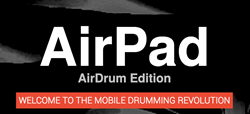 drum app,drumming app,airdrum app,AirPad,airdrum app for iphone,AirPad drum app,virtual drumming