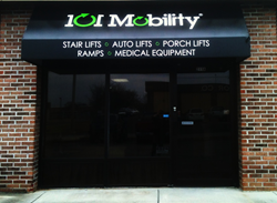 101 Mobility Knoxville's New Store Front