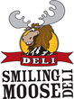 Smiling Moose Deli Logo featuring Mo! the moose.