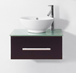 "Virtu USA 24"" Primo - Espresso - Single Sink Bathroom Vanity UM-3079-G-ES"