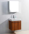 "Virtu USA 24"" Midori - Plum - Single Sink Bathroom Vanity JS-50124-PL"