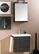 Simple NS4 22.5 Bathroom Vanity With Towel Bar From Iotti