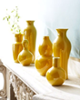 Yellow + Yellow Vases