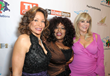 Freda Payne with Chaka Khan and Daphna Ziman on the red carpet at the Children Uniting Nations Academy Celebration and Viewing Dinner Party