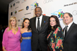Children Uniting Nations founder Daphna Ziman with actors Antonique Smits, Quinton Aaron and guests arrive at the 11th Annual Children Uniting Nations Oscar Celebration