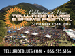 Telluride Blues & Brews Festival Adds Second Stage, VIP Sports...