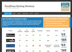 WordPress Hosting Directory