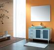 James Martin Solid Wood 47.5 Single Bathroom Vanity White 147-130-5211