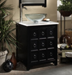 sagehill designs ap3021d 30 Bathroom Vanity with single door panel from the apothecary collection