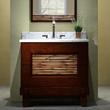 V-BAMBU-36DB BAMBU 36 Bathroom Vanity Dark Bamboo Xylem