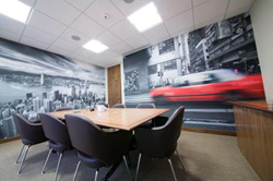 workplace supergraphics from Signbox Ltd