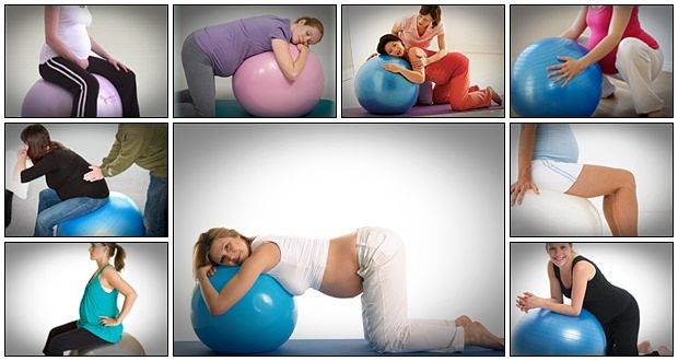 Birth ball exercises for pregnancy