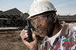 Two-way radios help construction workers identify and resolve safety issues before they become more of a threat.