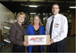 Hunger Buster Makes Beef Stick Donation to the Oklahoma Food Bank.