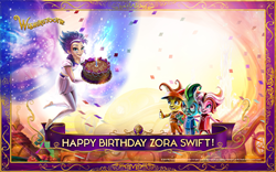 Follow @ZoraSwift and #ToothFairyDay on February 28 at 6pm EST to join her birthday party on Twitter