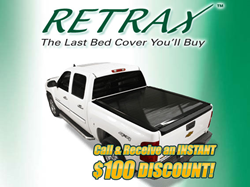 Retrax Tonneau Covers get yours at 4Wheelonline