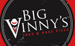 Big Vinny's Take & Bake Pizza Logo