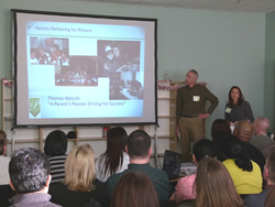 Presentation at Primoris Academy - School for gifted and talented children