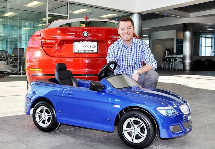 Land Rover Naperville >> Bill Jacobs BMW Donates Rare Children's BMW M6 Convertible Pedal Car to Benefit Ronald McDonald ...