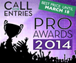 Pro Awards - Call for Entries