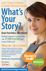 BCOG.com asking women to SPEAK OUT about women's Health and Healthcare!