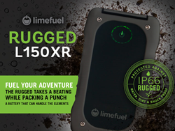 Limefuel IP66 Rugged 15000mAh USB External Battery Pack