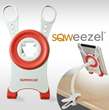 SMARTdesks.com Offers SQWEEZEL Universal Tablet Mounting System from Online Store and Facebook