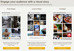 visual content marketing channels