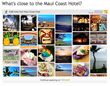 The Maui Coast Hotel uses Trover on their website through the hotel network buuteeq to help visitors see great things to do on a trip to Maui.