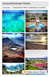Liz Young of YoungAdventuress uses the Trover Profile Widget to display her travel images on her own blog.