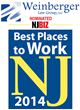 Weinberger Law Group Nominated Best Places to Work in New Jersey by NJBIZ