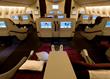 Qatar's Business Class Cabin
