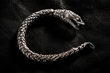 Custom William Henry 'Snake' Bracelet worn by Jared Leto