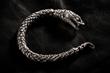 Custom William Henry 'Snake' Bracelet worn by Jared Leto