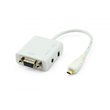 Micro HDMI to VGA with Audio Adapter