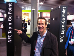 Chris at Mobile World Congress in Barcelona 2014