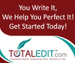 Managing Editor of TotalEdit.com Elected as Co-Chairperson of Higher...