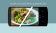 Impala mobile app automatically recognizes pictures of food and applies the best filter